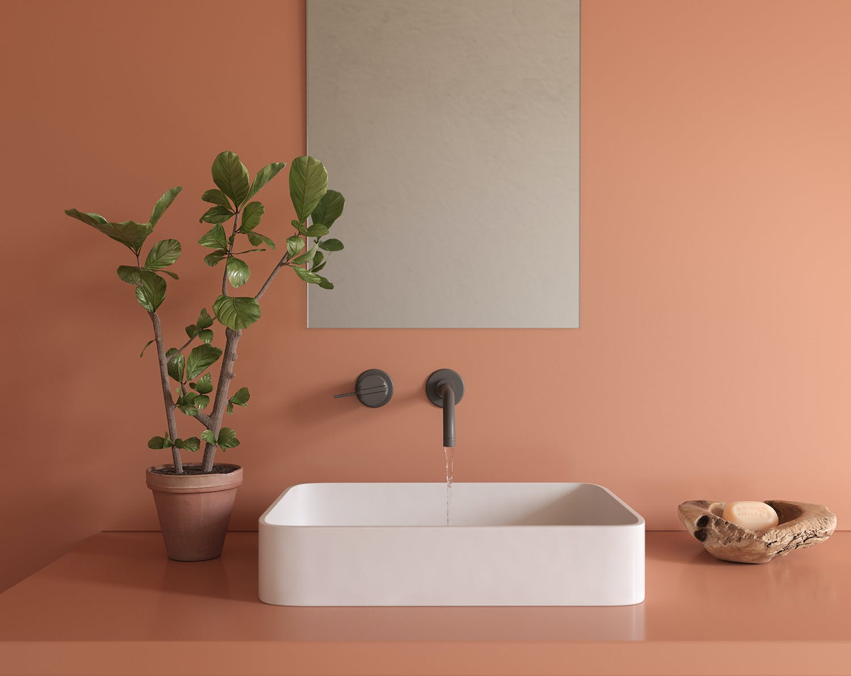 Silestone Sunlit Days Arcilla Red detail web Nace Sunlit Days by Silestone® Cosentino España