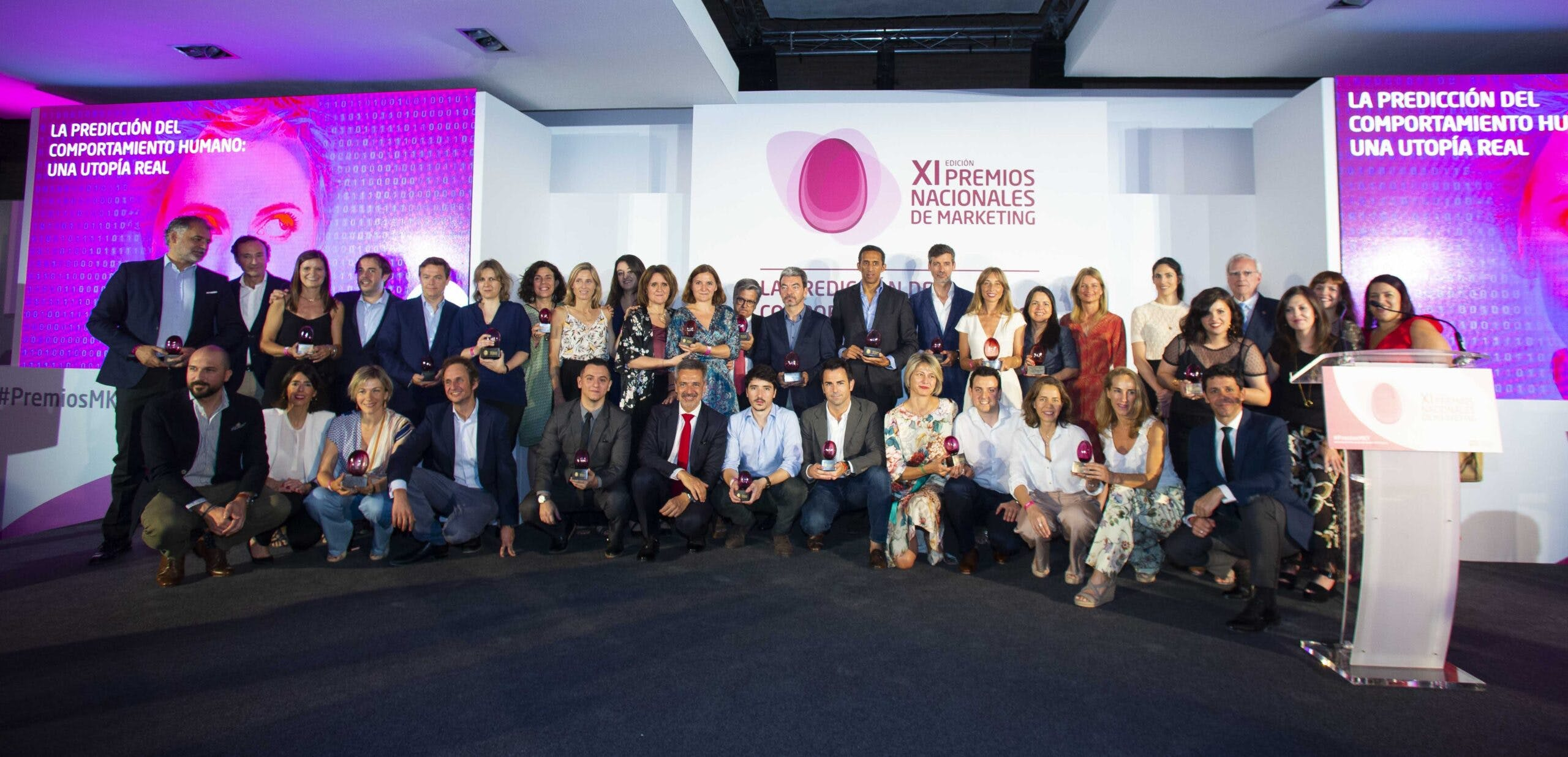 """Image of 27.06.19 Imagen Ganadores Premios MKT 1 scaled in Santiago Alfonso, """"Best Marketing Professional 2019"""" - Cosentino"""