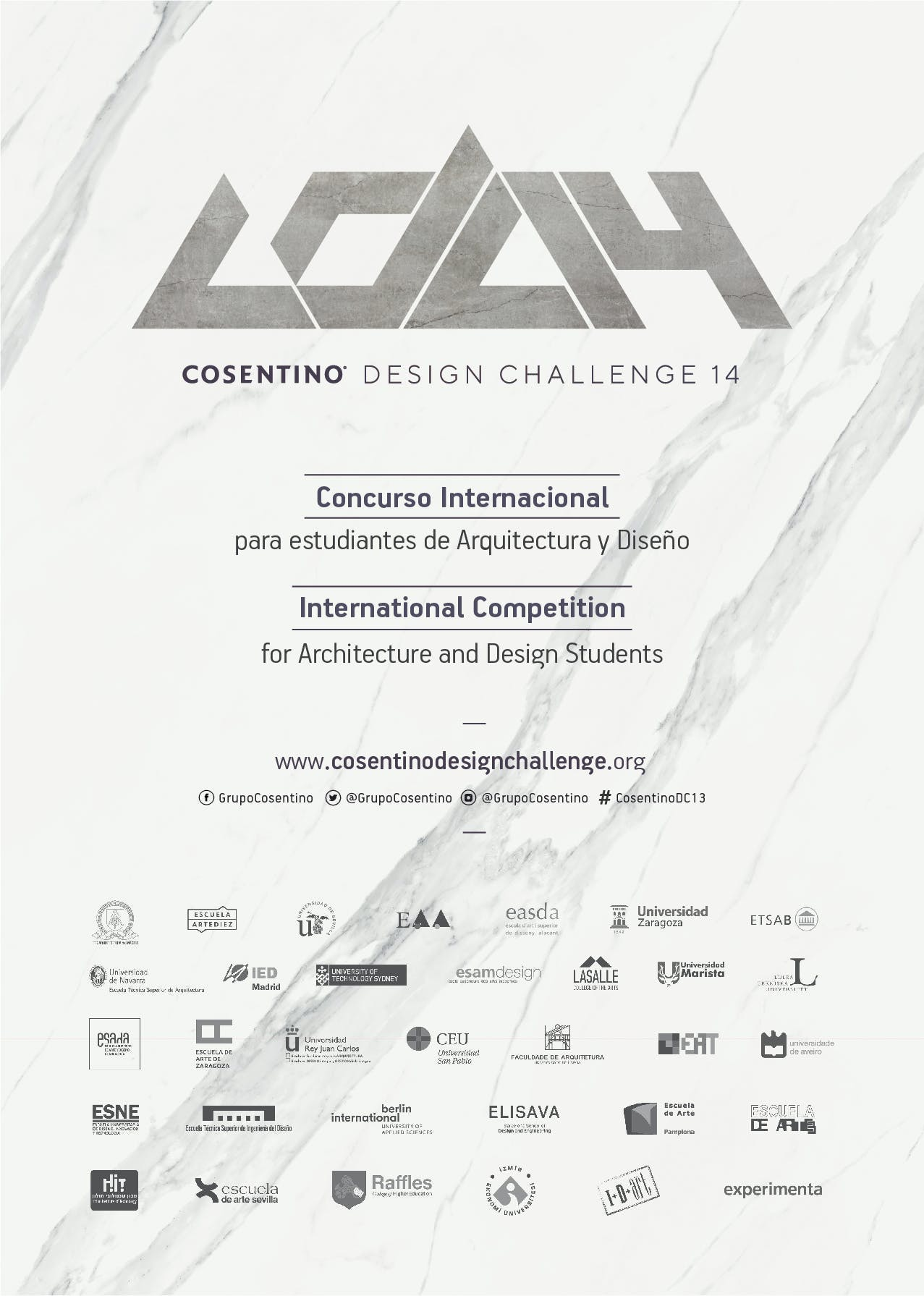 Image of Anuncio CDC 14 Digital 1 in Cosentino presents the 14th edition of the Cosentino Design Challenge - Cosentino