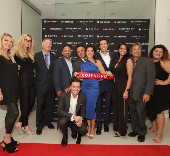 "Image of Cosentino Miami and Cosentino Ft Lauderdale team 2 in Cosentino Group opens in Miami its 11th ""City Center"" showroom around the world - Cosentino"