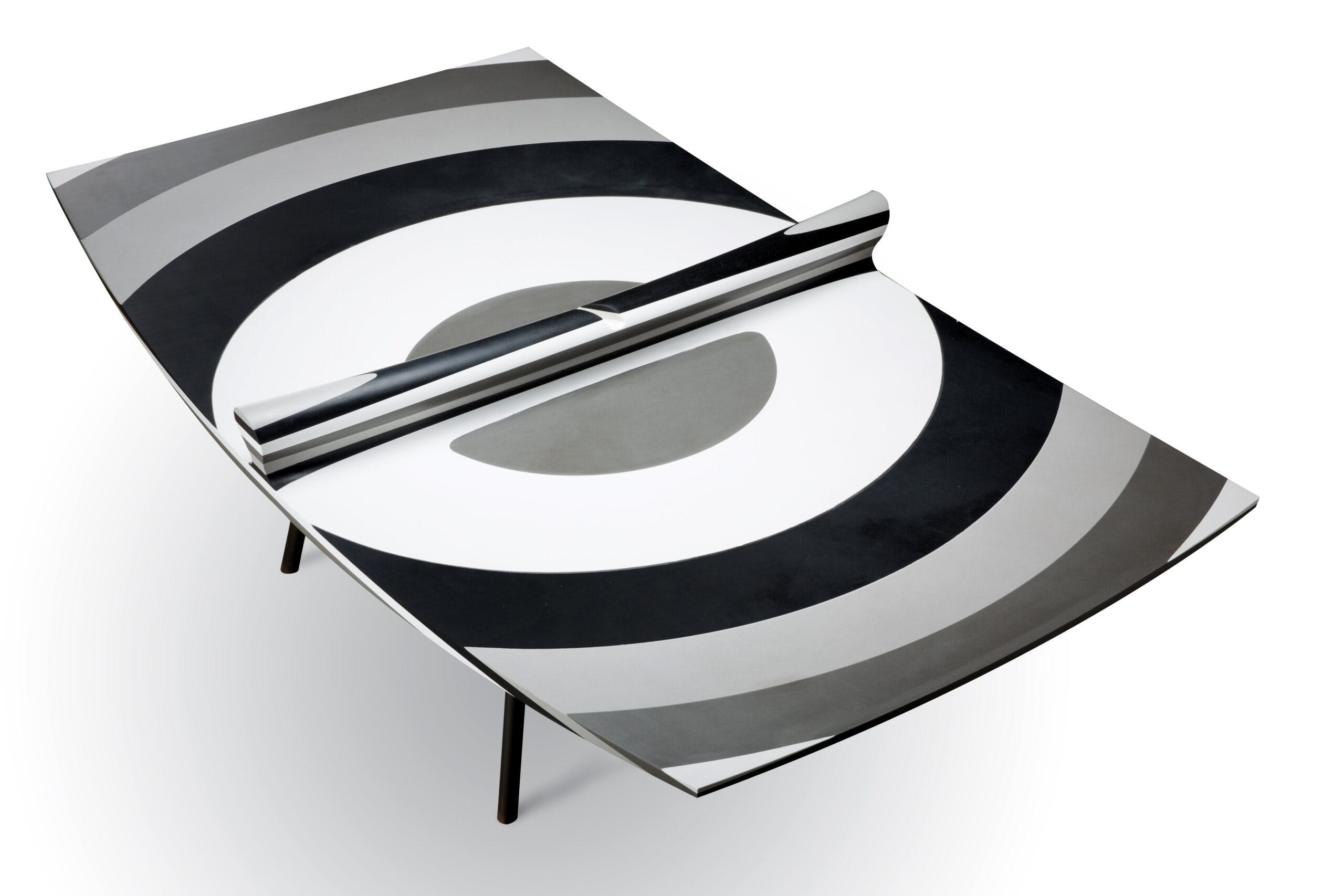 10 Layers Silestone ping pong table by Ron Arad