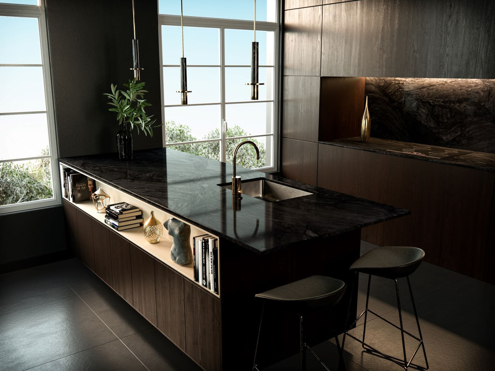 Sensa by Cosentino Nilo Kitchen countertops and backsplash 1 1 | Cosentino