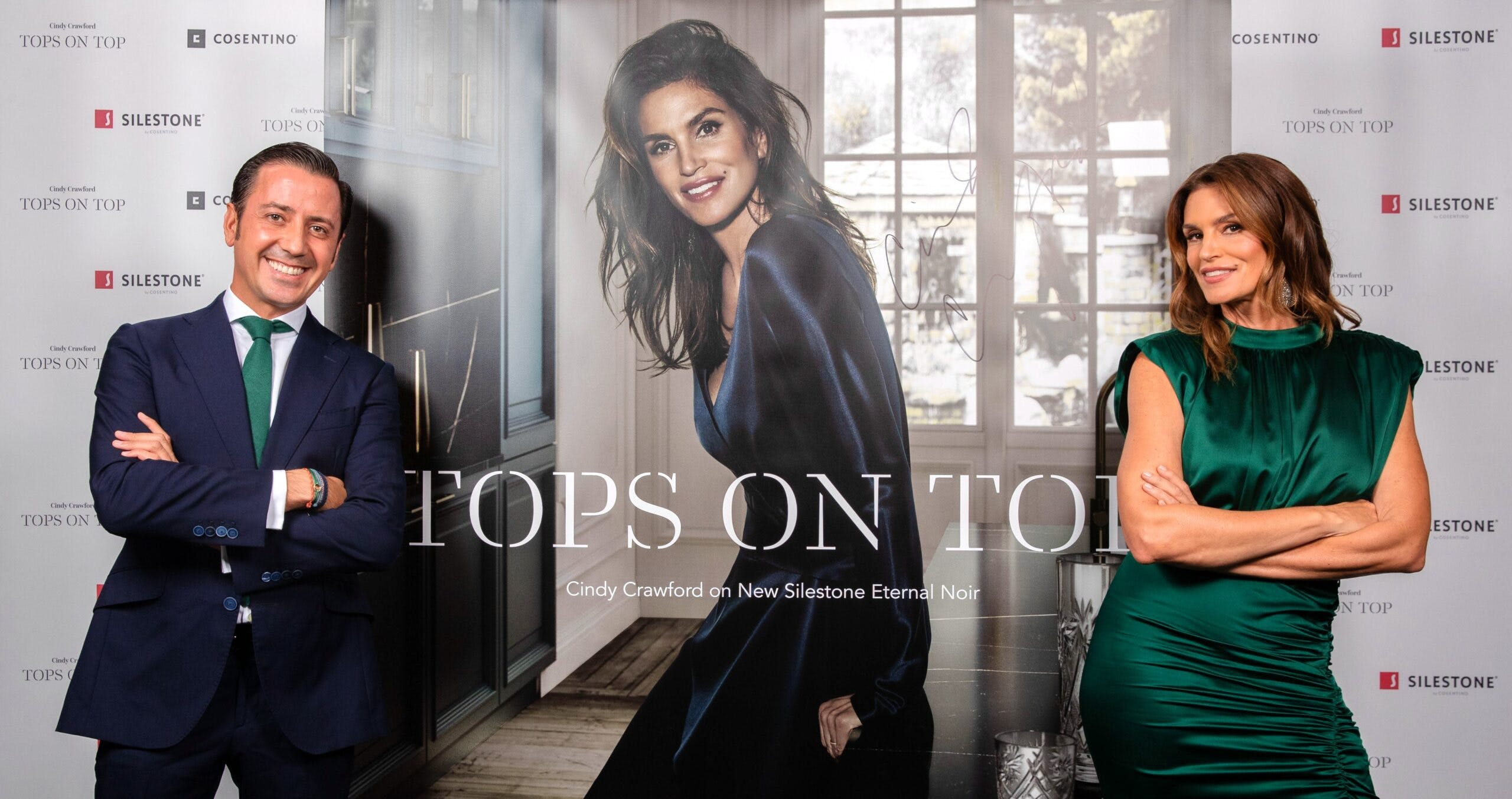 "Image of portada blog tops on top 2019 scaled in Silestone® Presents its New ""Tops on Top 2019"" Campaign Featuring Cindy Crawford - Cosentino"