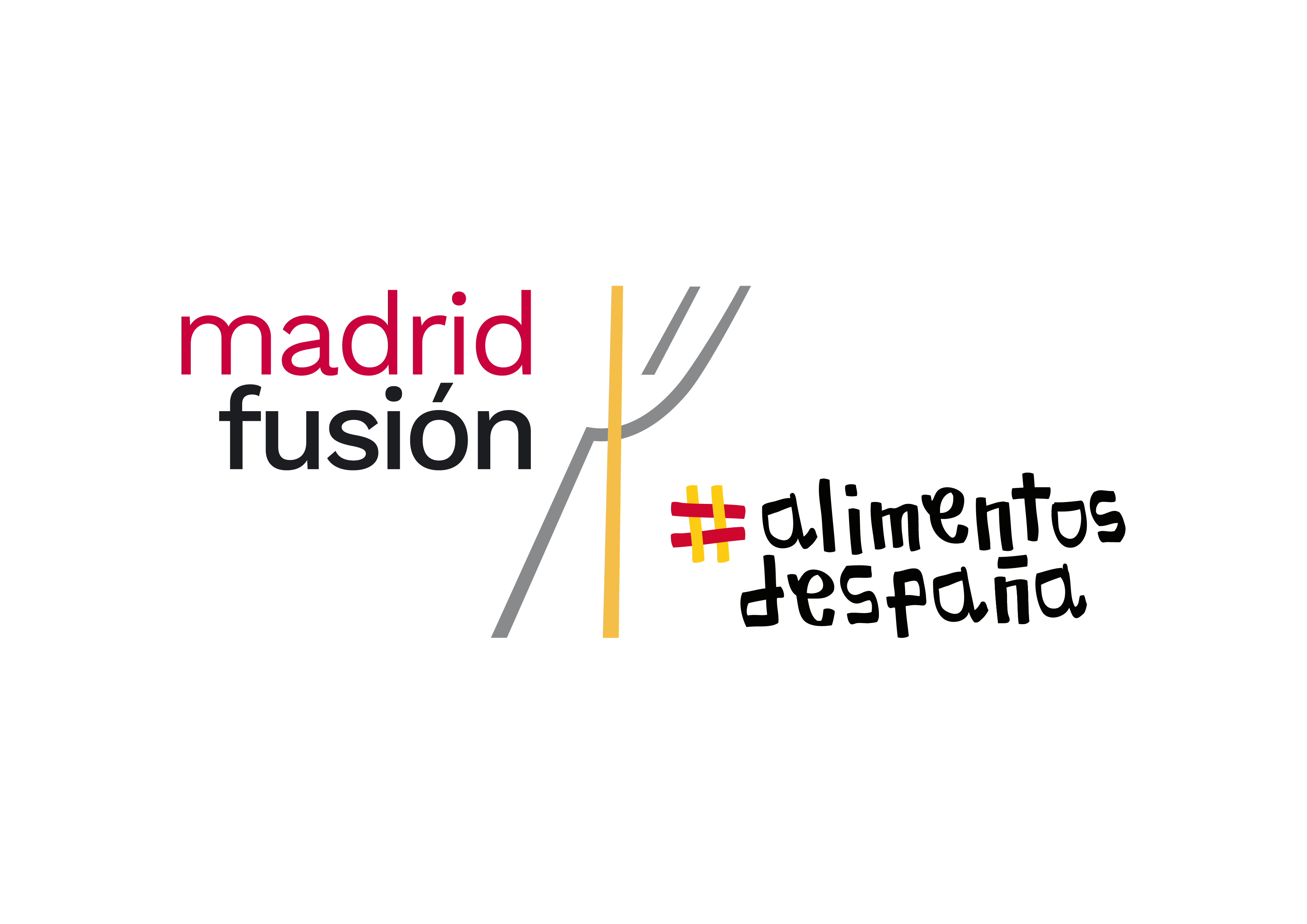 """Image of MADRID FUSION LOGO 2021 ALIM ENTOS DE ESPAÑA CMYK 01 in Silestone® awards the """"Chef of the Year"""" to eight renowned chefs at 2021 Madrid Fusion - Cosentino"""